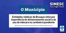 Jornal O Munícipio repercute nota do SIMESC Regional Brusque