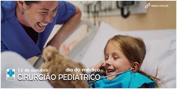 Sindicato dos Médicos do Estado de Santa Catarina 09/10/2020 - 12 de  outubro – Dia do Cirurgião Pediátrico